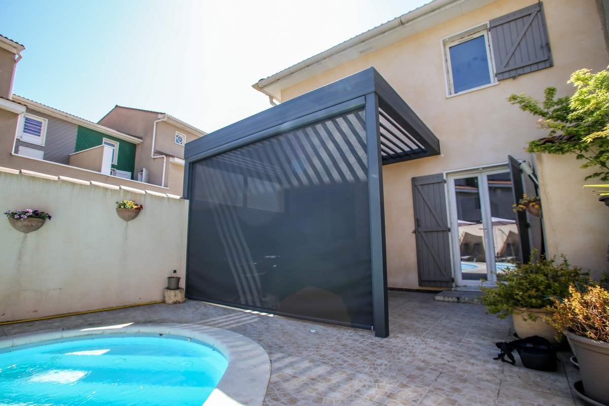 pergola aluminium pour terrasse